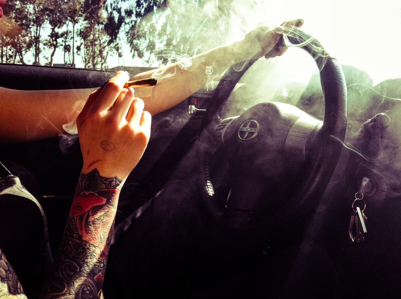 Maconha reduz a capacidade de dirigir