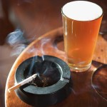 Bebidas alcoólicas e cigarro podem levar ao uso de outras substâncias