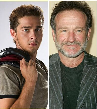 Shia LaBeouf e Robin Williams buscam tratamento para dependência química