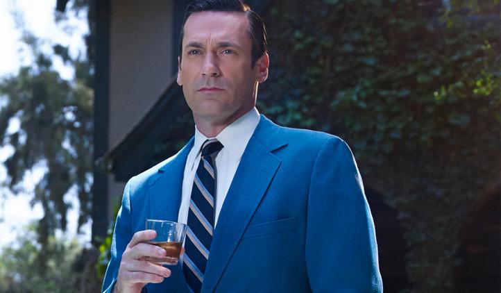 A vida imita a arte: ator de Mad Men trata o alcoolismo