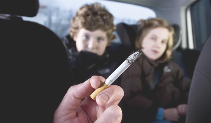 Crianças não devem ficar expostas ao cigarro