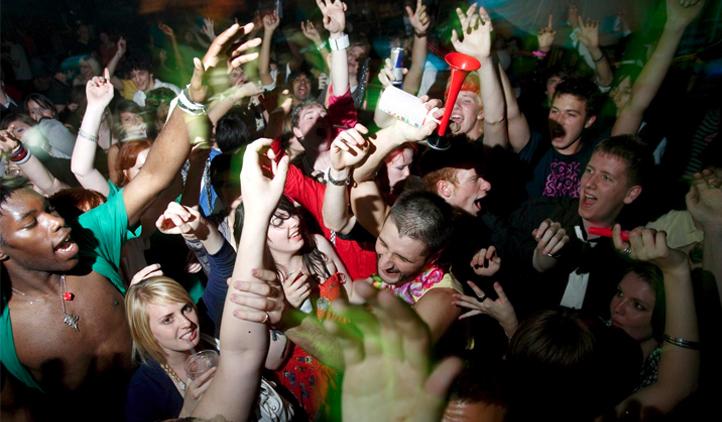 Festas e o consumo excessivo de álcool