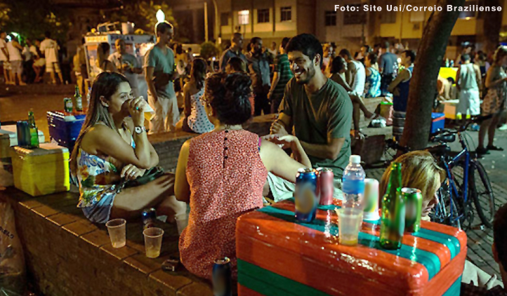 Estudo identifica os contextos em que jovens costumam beber
