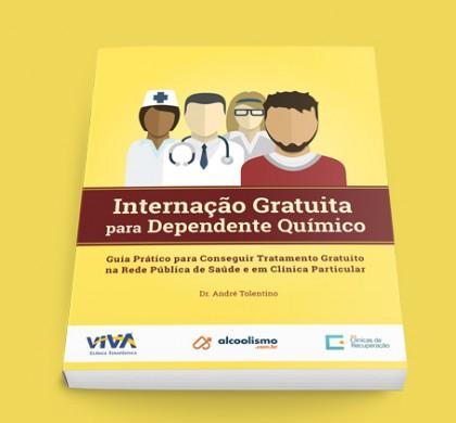 E-book gratuito orienta como conseguir internação gratuita para dependente químico em clínica particular