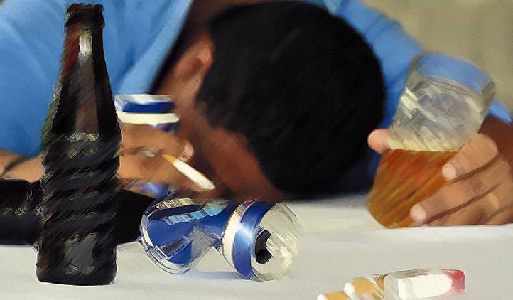 Profissões mais propensas ao consumo de álcool