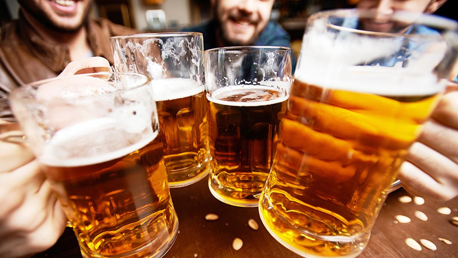 A cerveja está engordando você?