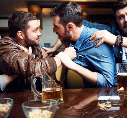 Há quatro tipos de pessoas que bebem álcool. Qual deles é?