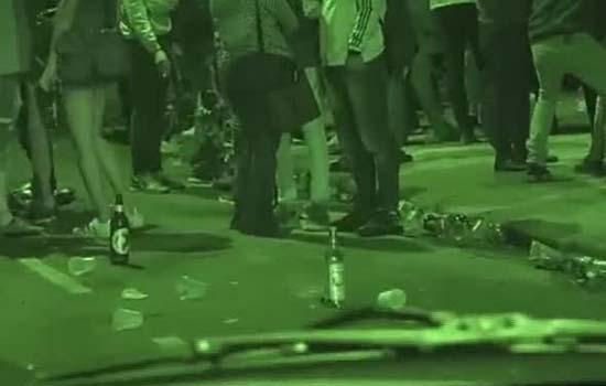 Paulista à noite vira 'passarela do álcool'